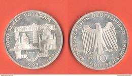 10 Mark 1993 Potsdam Germania Allemagne Bundesrepublik - [10] Commémoratives