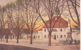 """1924   Loburg    """" Rathaus  Und Kriegerdenkmal  """" - Schoenebeck (Elbe)"""