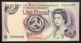 Isle Of Man 1 Pound Signature 5  Fds  LOTTO 2024 - Isle Of Man / Channel Island