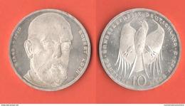 10 Mark 1993 J Germania Allemagne Deutsche Bundesrepublik R. Koch - [10] Commémoratives