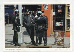 USA - AK 328353 New York City - Cops Auf Coney Island - New York City
