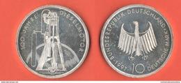 10 Mark 1997 F Diesel Motor Germania Allemagne Deutsche Bundesrepublik - [10] Commémoratives