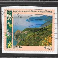 Italia 2013 Parco Nazionale Delle Cinque Terre. Valore Usato - 6. 1946-.. Repubblica