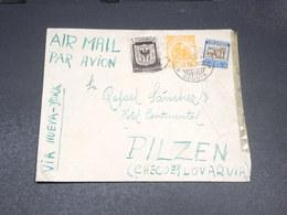 COLOMBIE - Enveloppe De Bogota Pour La Tchécoslovaquie En 1938 Avec Contrôle Postal - L 19932 - Colombia