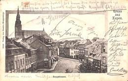 Gruss Aus Eupen - Bergstrasse (Verlag Von Kroppenberg, 1900) - Eupen