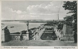 004630  Belgrad - Kalemegdan-Park - Serbien