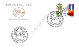 Inter Campione D'Italia 2007-2008 - FDC Cavallino Italia Repubblica 2008 - Francobolli