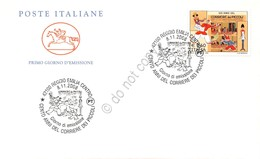 Cento Anni Del Corriere Dei Piccoli - FDC Cavallino Italia Repubblica 2008 - Francobolli