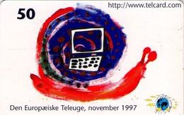 TARJETA TELEFONICA DE DINAMARCA. TDS034, European Telework Development (117) - Dinamarca