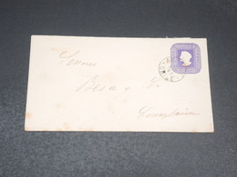 CHILI - Entier Postal Circulé - L 19934 - Chile