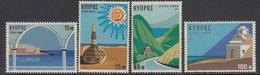 Cyprus 1971 - Tourism - Mi 365-368 MNH ** - Chypre (République)