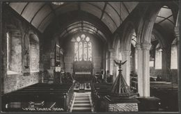 Interior, Lifton Church, Devon, C.1930s - Chapman RP Postcard - Other