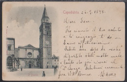 Koper, Church At Square, Mailed In 1898, Stamp Removed - Slovenia