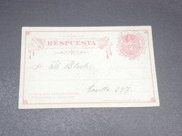 CHILI - Entier Postal Voyagé En 1897 - L 19937 - Chile