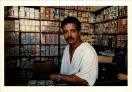 MAROC - FEZ - Chanteur - 1989 - Photo: KERVINIO - Fez (Fès)