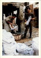 MAROC - FEZ - Souk Des Teinturiers - 1989 - Photo: KERVINIO - Fez (Fès)