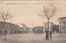 AK St.Rambert-D`Albon, La Place Du Marche, Ungelaufen - Valence