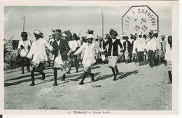 DJIBOUTI --   Danse Arabe Très Animée Avec Cachet De 1933 - Djibouti