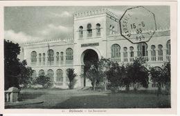 DJIBOUTI --   Le Secrétariat  Avec Cachet De 1933 - Djibouti