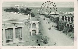 DJIBOUTI --   Vue Du Port  Avec Cachet De 1933 - Djibouti