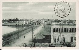 DJIBOUTI --   Rue D' Ambouli  Avec Cachet De 1933 - Djibouti