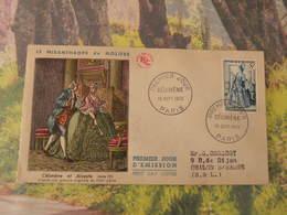 Célimène Et Alceste - Paris (75) - 19.9.1953 < FDC 1er Jour > Coté 13€ - N°956 Y&T - FDC