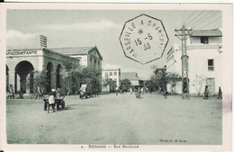 DJIBOUTI --   Rue Marchand Avec Cachet De 1933 - Djibouti