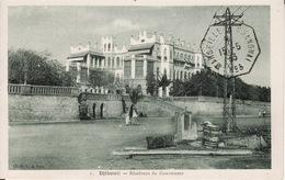 DJIBOUTI --  Résidence Du Gouverneur Avec Cachet De 1933 - Djibouti