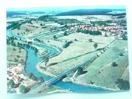 V8-2-DEP-70-haute Saone-jussey- Vue Aerienne- Pont De Cendrecourt-le Village--ecluse-- - France