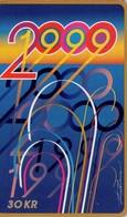 TARJETA TELEFONICA DE DINAMARCA. TDS042, Millennium 2000 (011) - Dinamarca