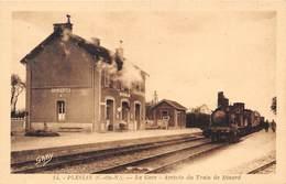 22-PLESLIN-PLOUER LA GARE - ARRIVEE DU TRAIN DE DINARD - France