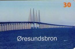 TARJETA TELEFONICA DE DINAMARCA. TDS043, The Sound Bridge (130) - Dinamarca