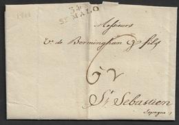 1801 LAC St. Malo A San Sebastian, Espagne - 1801-1848: Precursors XIX