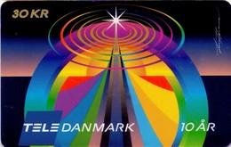 TARJETA TELEFONICA DE DINAMARCA. TDS044, Tdc 10 Years Jubilee (019) - Dinamarca