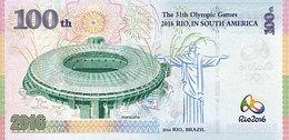 BRESIL 31ème Jeux Olympiques Rio De Janeiro 100 R 2016  MASCOTTE  UNC - Brasil
