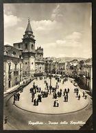 Regalbuto Piazza Della Repubblica  VIAGGIATA 1960  COD C.2036 - Enna