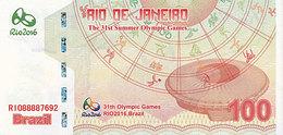 BRESIL 31ème Jeux Olympiques Rio De Janeiro 100 R 2016 CATHEDRALE  UNC - Brasil