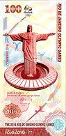 BRESIL 31ème Jeux Olympiques Rio De Janeiro 100 R 2016  AMPHITHEATRE UNC - Brasil