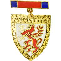Pologne, Pomorza, Médaille, Non Circulé, Gilt Bronze, 45 - Militares