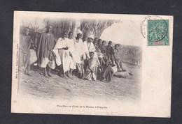 Soudan Francais Mali Pere  Blanc Et Eleves De La Mission à Dinguira ( Serie 1 Robert Schleber Kayes ) - Mali