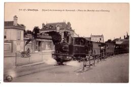 2083 - Chartres ( 28 ) - Départ Du Tramway De Bonneval ( Place Du Marché Aux Chevaux ) -N.G. - N°135 - - Chartres