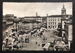 Rimini Piazza Tre Martiri VIAGGIATA 1960  COD C.2039 - Rimini
