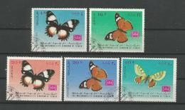 Yemen Kingdom 1968  Butterflies  Y.T. A 69 + T9  (0) - Butterflies