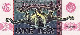 Banque Mondiale De Réserve Du Temps 1 Jour Série A-101 UNC - Specimen