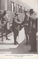 Rencontre De M Clemenceau Et Du Maréchal Sir Douglas Haig Sur Le Front Anglais - Hommes Politiques & Militaires