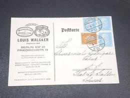 ALLEMAGNE - Carte Commerciale De Berlin En 1932 - L 19980 - Briefe U. Dokumente