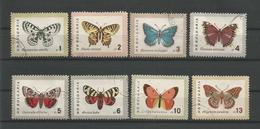 Bulgaria 1962  Butterflies  Y.T. 1155/1162  (0) - Butterflies