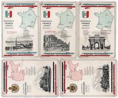 17 FICHES ILLUSTREES CHOCOLAT SUCHARD Pays & Villes *ALLEMAGNE *FRANCE * ITALIE *BELGIQUE *ANGLETERRE *DANEMARK*PAYS-BAS - Suchard