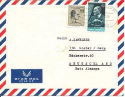 Turkey Air Mail Cover Sent To Germany Karaköy 14-12-1968 - 1921-... Republic