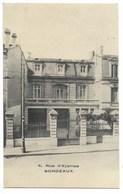 33-BORDEAUX-Immeuble 4 Rue D'Eysines... (n'existe Plus... Aujourd'hui Mutuelle MAPA...) - Bordeaux